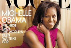 Michelle Obama for US Vogue, celebrity, world news, Marie Claire