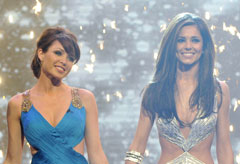 Dannii Minogue and Cheryl Cole, X Factor, Celebrity News, Marie Claire