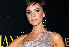 Victoria Beckham at the Armani Party