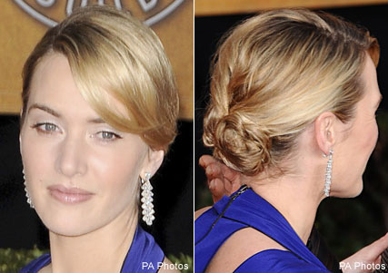 Kate Winslet, Virtual makeover, Marie Claire Beauty
