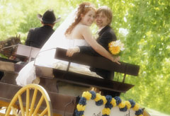 Horse and carriage - wedding, health news, Marie Claire