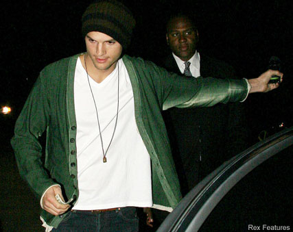 Ashton Kutcher-Kate Hudson' Birthday party-Celebrity Photos-20 April 2009
