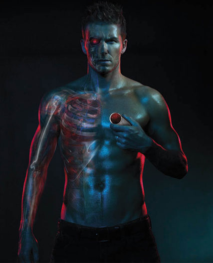 David Beckham, Motorola advert, Terminator