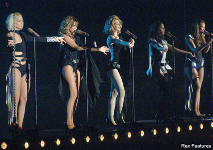 Girls Aloud Tour, celebrity gossip, marie claire