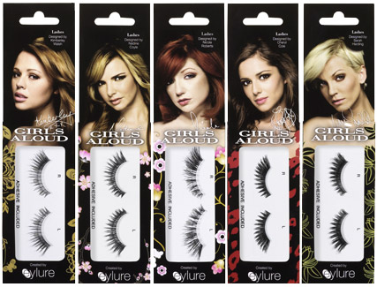 Girls Aloud eyelashes