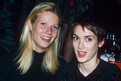 Gwynneth Paltrow and Winona Ryder, celebrity gossip, marie claire