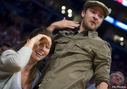 Justin Timberlake and Jessica Biel, Celebrity Photos