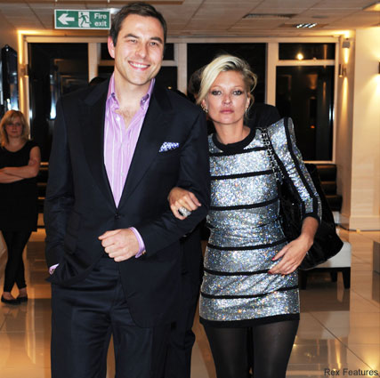 Kate Moss and David Walliams-Celebrity News