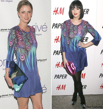 Katy Perry, Nicky Hilton, fashion, Marie Claire
