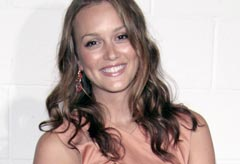 Leighton Meester Chloe Boutique opening in LA
