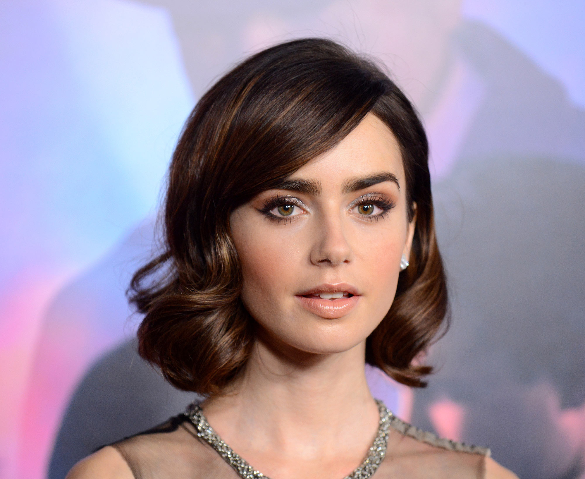 From lily collins hairstyles 2017 best haircuts and hair colors - From Lily Collins Hairstyles 2017 Best Haircuts And Hair Colors 59
