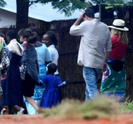 Madonna in Malawi, celebrity news, Marie Claire