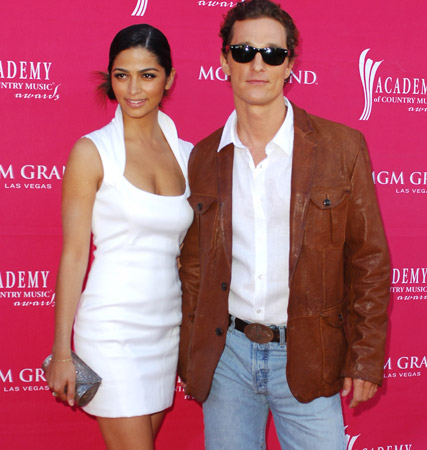 Camilla Alves and Matthew McConaughey, Country Music Awards, celebrity gossip, Marie Claire