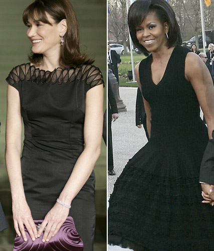 First Ladies of fashion unite for political style-off