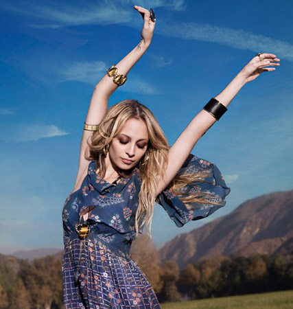 Nicole Richie for House of Harlow, celebrity gossip, marie claire