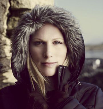 Zara Phillips for Musto, celebrity gossip, Marie Claire