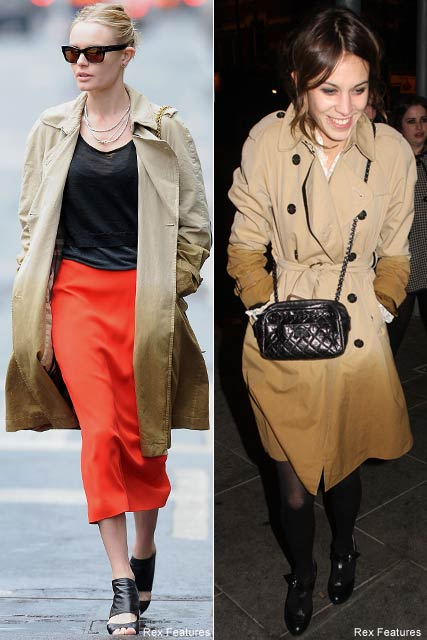 Who wore it best? Kate Bosworth vs. Alexa Chung