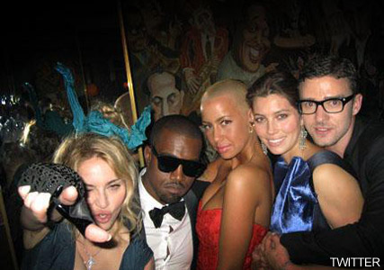 Madonna and Kanye West, celebrity gossip, marie claire