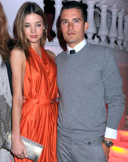 Miranda Kerr and Orlando-Bloom - Celebrity News - Marie Claire