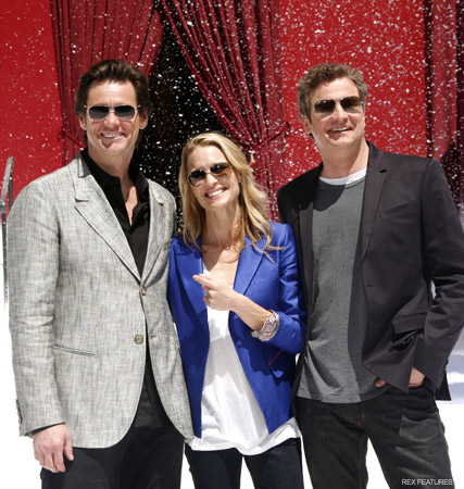 Jim Carrey, Robin Wright Penn and Colin Firth, celebrity gossip, marie claire