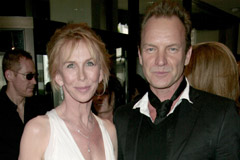 Trudie Styler and Sting, celebrity gossip, marie claire