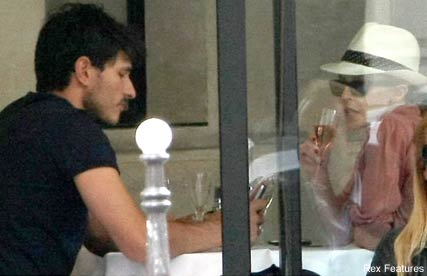 Kylie Minogue & Andres Velencoso - Celebrity News - Maire Claire