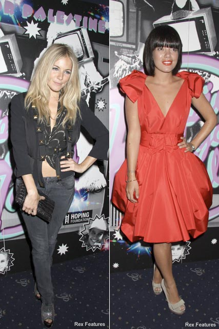 Sienna Miller and Lily Allen - Celebrity News - Maire Claire