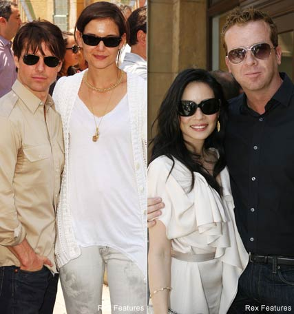 Tom Cruise and Katie Holmes, Lucy Liu, Celebrity News, Celebrity Photos