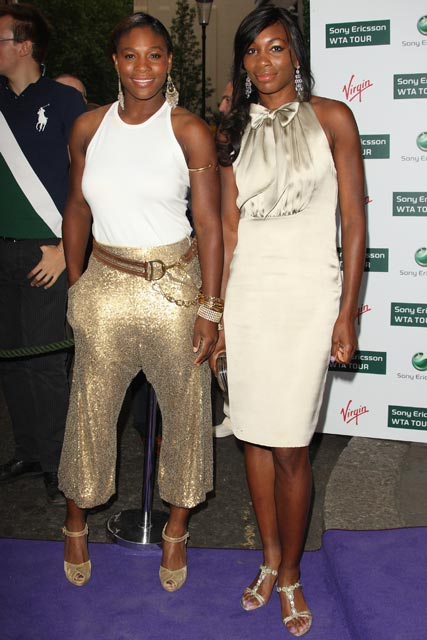 Venus and Serena Williams - Celebrity News - Marie Claire