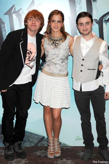 Rupert Grint, Emma Watson and Daniel Radcliffe - Harry Potter - Celebrity News - Marie Claire