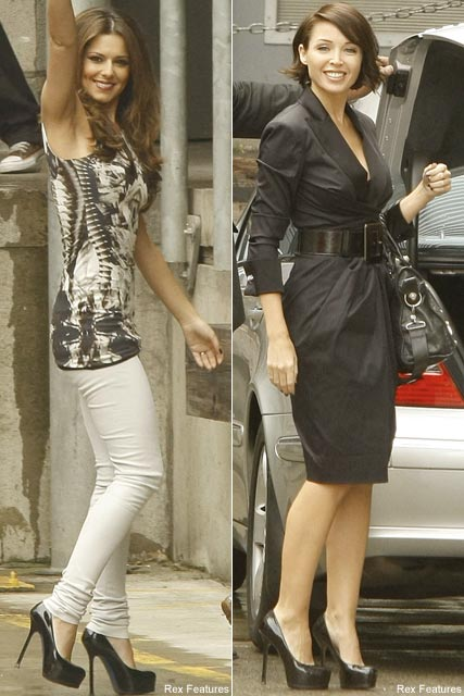 Cheryl Cole & Dannii Minogue - Celebrity News - Marie Claire