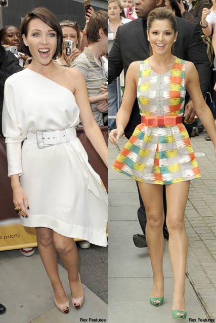 Dannii Minogue & Cheryl Cole - Celebrity News - Marie Claire