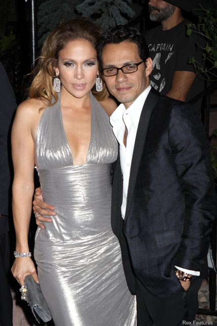 Jennifer Lopez and Marc Anthony - Celebrity News - Marie Claire