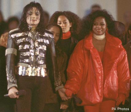 Michael Jackson & Diana Ross - Celebrity News - Marie Claire