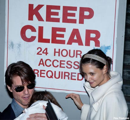 Tom Cruise & Katie Holmes - Celebrity News - Marie Claire