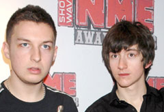 Arctic Monkeys at the NME Awards