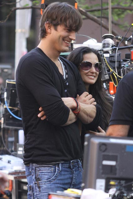 Ashton Kutcher and Demi Moore - Celebrity News - Marie Claire