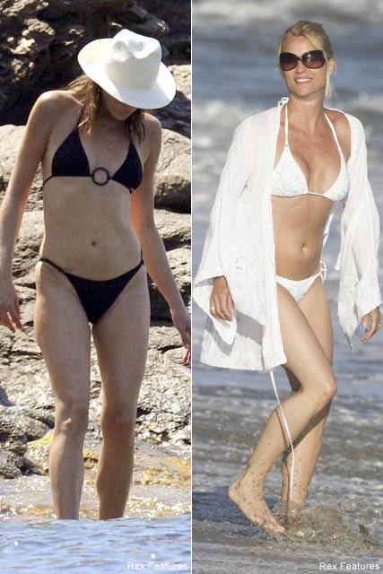 Carla-Bruni-and-Nicollette Sheridan, Fashion News
