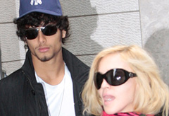 Madonna and Jesus Luz in New York
