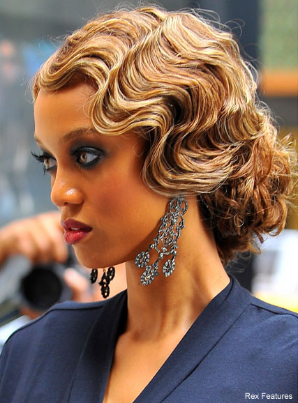 Tyra Banks Hits Gossip Girl Set