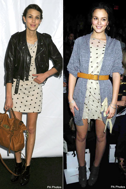 Who wore it best? Leighton Vs. Alexa