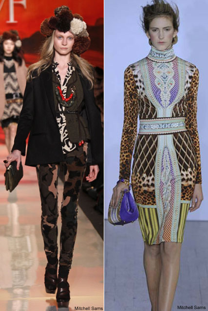 DVF & Basso & Brooke clutches - A/W Trends 2009 - Fashion - Marie Claire