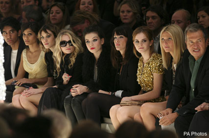Burberry front row - Fashion News - Marie Claire