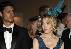 Jesus Luz and Madonna - Celebrity News - Marie Claire
