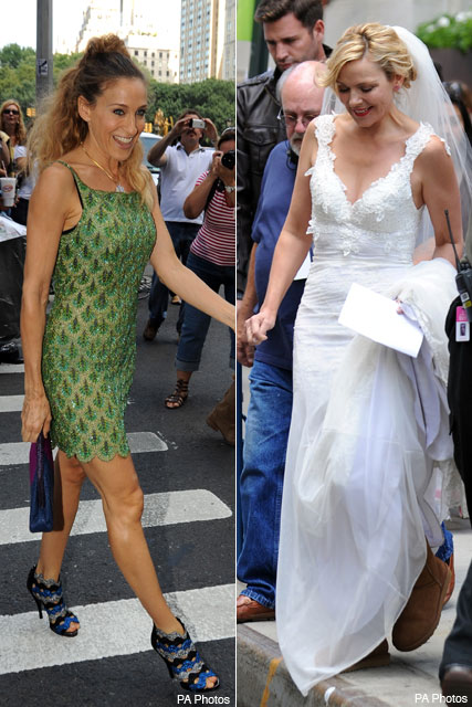 Does Samantha wed in Sex and the City 2?
