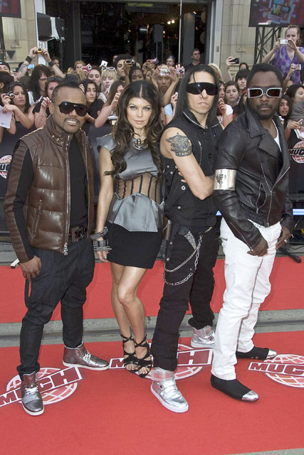 The Black Eyed Peas - X Factor - Celebrity News - Marie Claire