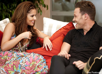 Cheryl Cole and Will Young-X factor 2009