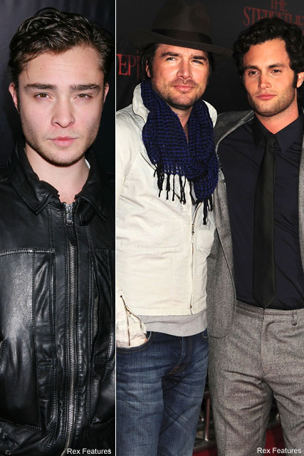 Ed Westwick, Matthew Settle & Penn Badgley - Celebrity News - Marie Claire