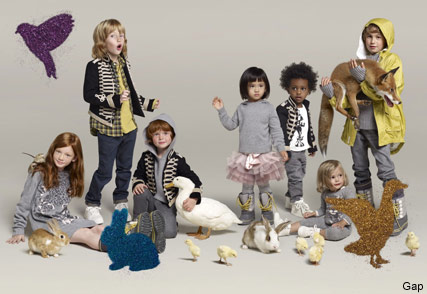 Stella Mccartney for Gap Kids, Fashion News