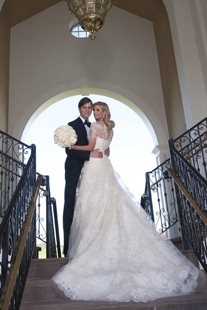 Ivanka Trump & Jared Kushner Wedding Photos, Celebrity News, Celebrity Photos